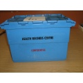 Hospital Clinic Transfer Crates and bags