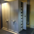CQC Secure Patient Records Mobile Shelving