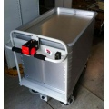 Electric Medical Records Sprung Base Trolley