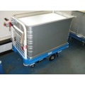 Medical Records Electric Sprung Base Trolley