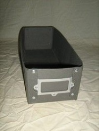 Heavy Duty Lloyd George Box with label holder (380mm)